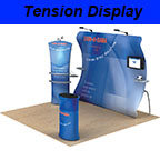 Tension Fabric Display